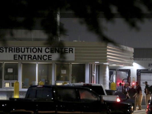 Texas Distribution Center Shooting