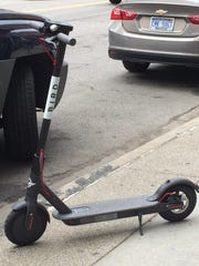 Bird scooters are available in Atlanta (and Detroit), as well as Lime scooters.