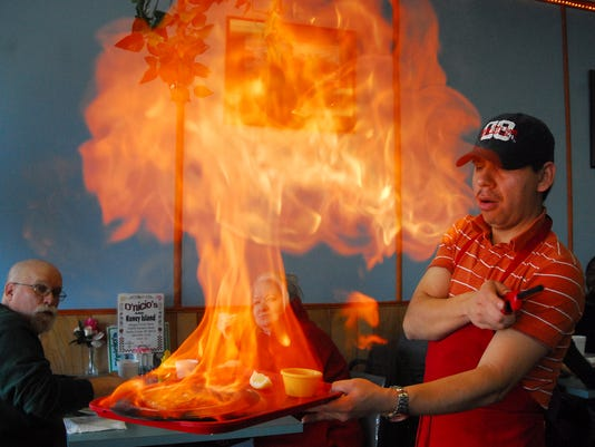 Fries to flaming fromage at D'Nicio's