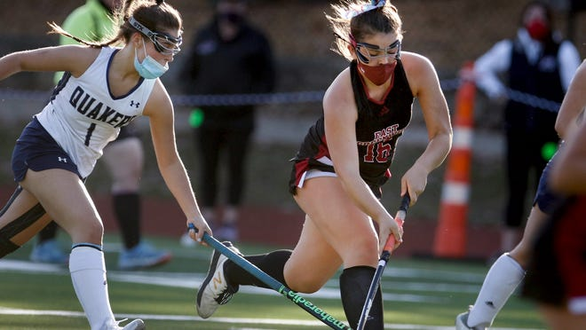 The East Greenwich field hockey team wants to defend its state title, but to get that chance the Avengers will have to take care of Barrington on Wednesday at 4:30 p.m. in East Greenwich.