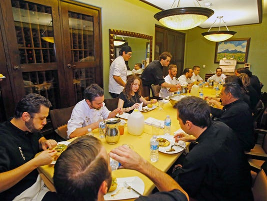 Restaurants Try To Preserve Family Meal Tradition To Keep Staff United