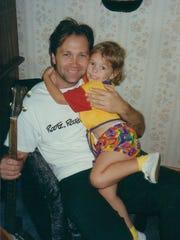 Steve Wariner and his niece Jessi Wariner in 1995