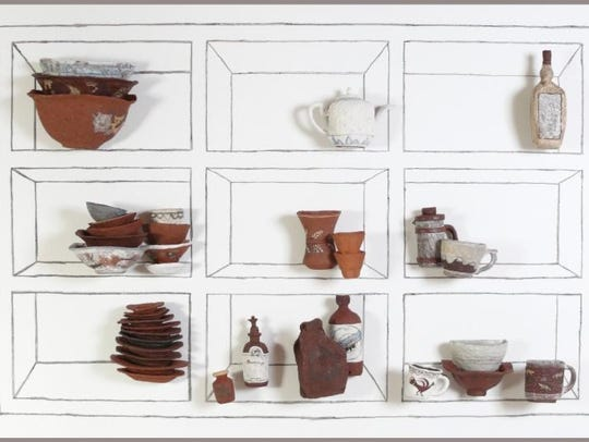 A pottery installation will be the focal point in Adam