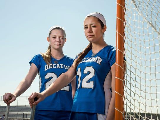 Sisters Lexie and Payton Van Kirk make a formidable