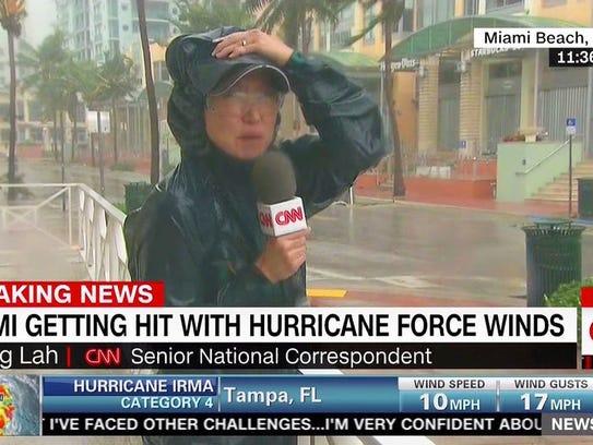 CNN Senior National Correspondent Kyung Lah reporting