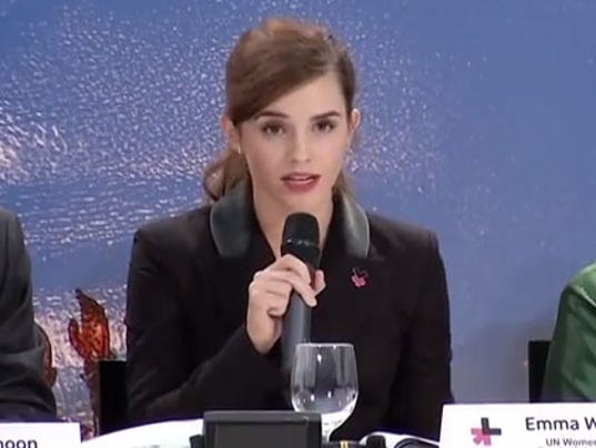 Equality >> Emma Watson gives passionate Davos speech