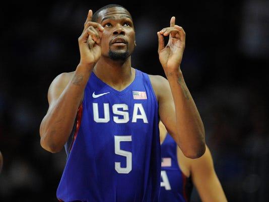 Basketball: USA Basketball Exhibition Game-China at USA