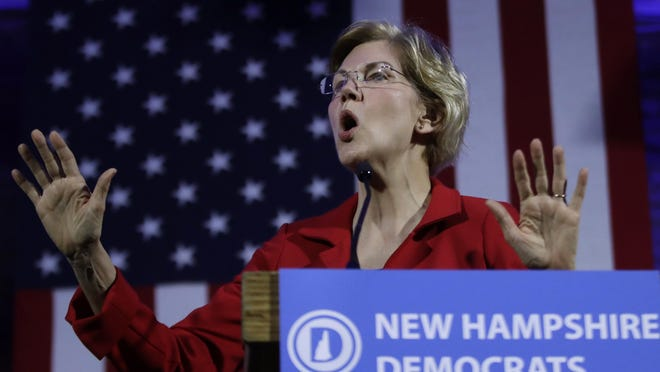 """Presidential candidate Sen. Elizabeth Warren is calling for """"systemic change"""" to everything from health care to who pays for a college education."""