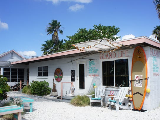 The Island Life gift shop is the embodiment of beach