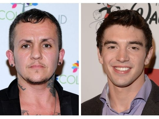 Cliks vocalist Lucas Silveira (left) and Steve Grand will perform as part of Circle City IN Pride Fest.
