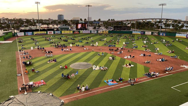 The Daytona Tortugas will welcome fans back to Jackie Robinson Ballpark Friday for another movie night.