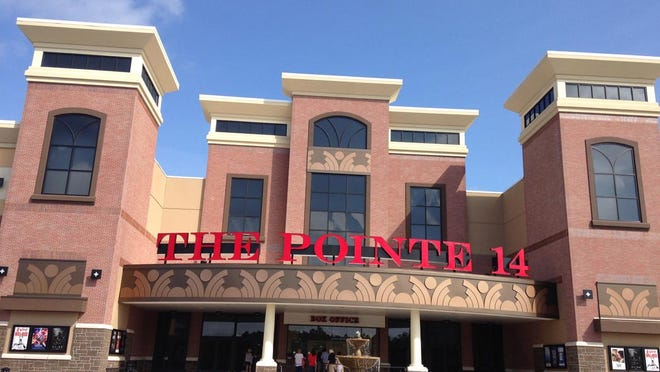 Stone Theaters' The Pointe 14 in Wilmington has been closed since March, along with all of the other movie theaters in town.