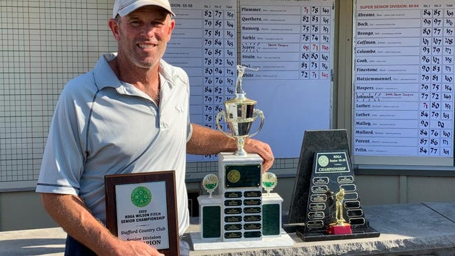 Jim Scorse captures the 2020 RDGA Wilson Fitch Senior Championship at Stafford Country Club.