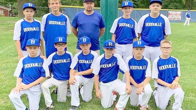 Although it wasn't a state or regional tournament, the Boonville 12-year-old All-Stars played in an exhibition game against the Boonville 11-year-old All-Stars last Sunday at the COCOBA ballfield. The Boonville 12 All-Stars defeated the Boonville 11 All-Stars 4-2.