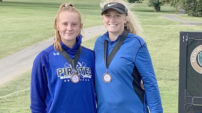 Boonville golfers Payten Black and Zoey Lang earned all-conference honors Monday in the Tri-County Conference Tournament at Eldon Country Club. Black finished seventh overall in the tournament with a score of 99 while Lang placed eighth with a score of 103.