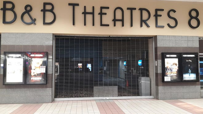 B&B Theatres, located in Dodge City's Village Square Mall, continues to operate after reopening in September.