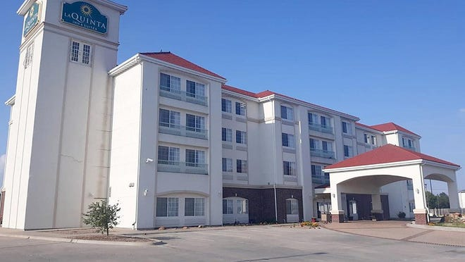 La Quinta Inn and Suites, located at 2400 W. Wyatt Earp Blvd, is a registered DCF non-congregate housing site.