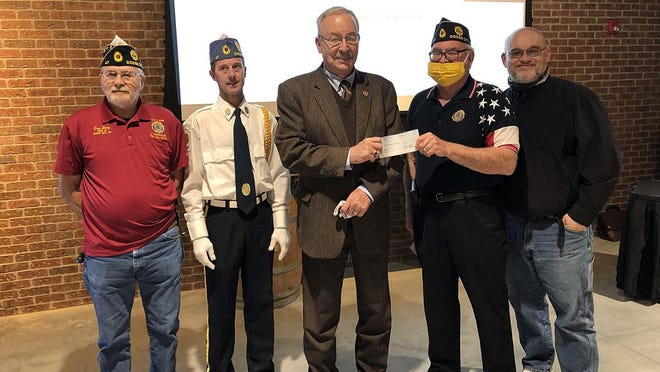 The American Legion Post 47 Honor Guard received a grant from the Community Foundation of Southwest Kansas in the amount of $2,500 to expand its organization.
