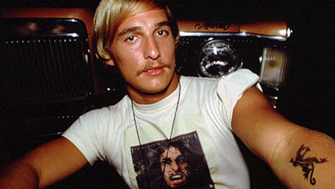 "It seems everyone on the set of ""Dazed and Confused"" knew Matthew McConaughey was destined for stardom."