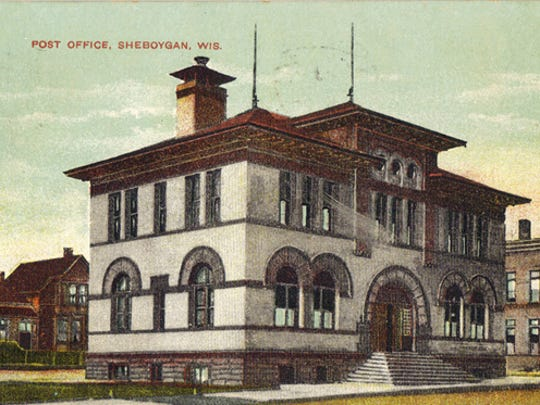 Sheboygan City Post Office was built in 1892 on the