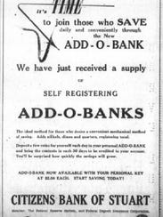 Add-O-Banks encouraged Citizens customers to save after