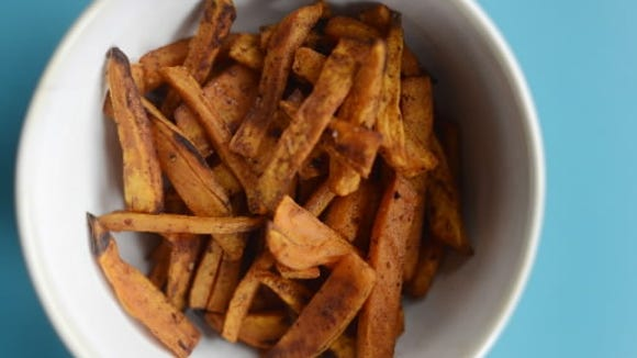 Southwest Sweet Potato Fries (Daily Record/Sunday News -- Kate Penn)