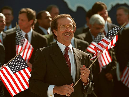 Sonny Bono, who was elected to Congress in 1994 after