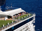 Cruise ships are going green! Celebrity Cruises' Solstice-class ships feature a half-acre of real grass.