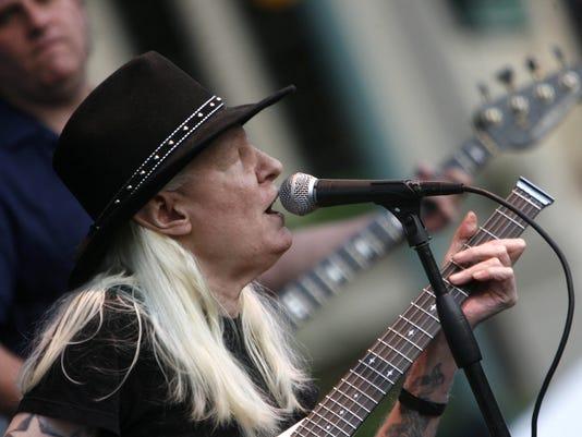 d1efb7ad138 Blues legend Johnny Winter dies at 70 in Zurich