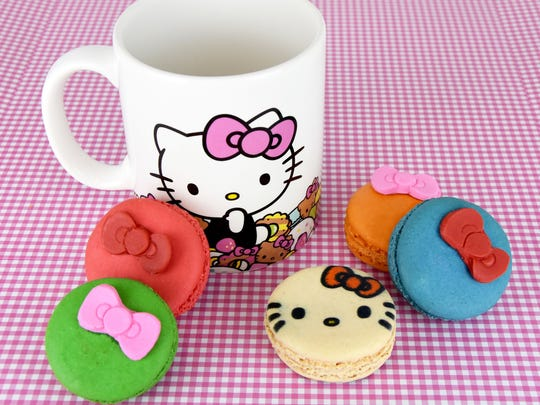 The Hello Kitty Cafe Truck will feature adorable sweet treats and gift items.
