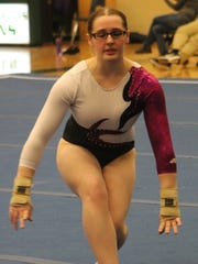 Birmingham Unified sophomore Madeline Brooks competes