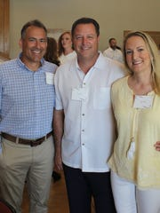 Dave Milton, Tim and Jodi Velde