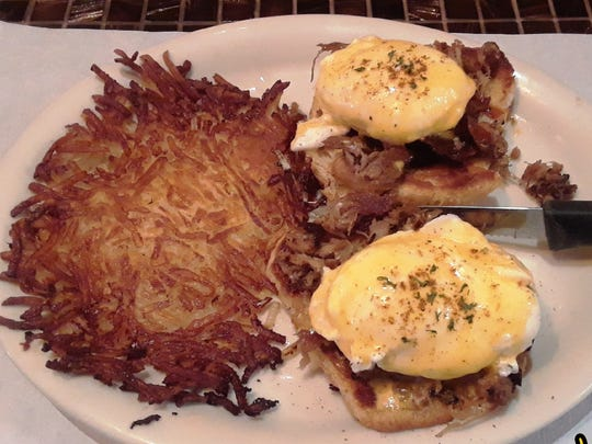 The Bennys — Hart & Soul's takes on eggs Benedict — are popular at the Cape Coral cafe.