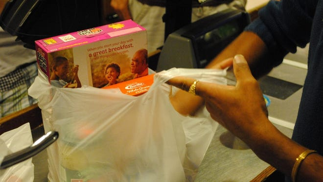 The start of Franklin's plastic bags ban, which was originally set to take effect July 1, will now begin in November.