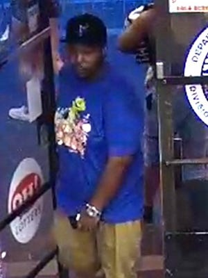 Cincinnati police are looking for a man who they said broke into several employee lockers at the Cincinnati Reds Stadium in August.