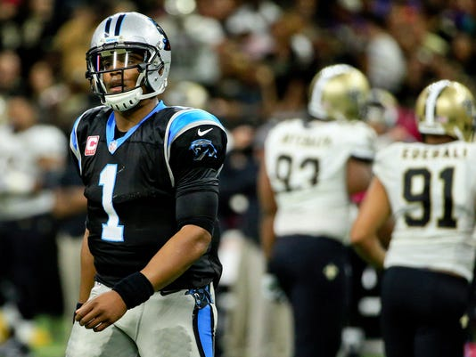 USP NFL: CAROLINA PANTHERS AT NEW ORLEANS SAINTS S FBN USA LA