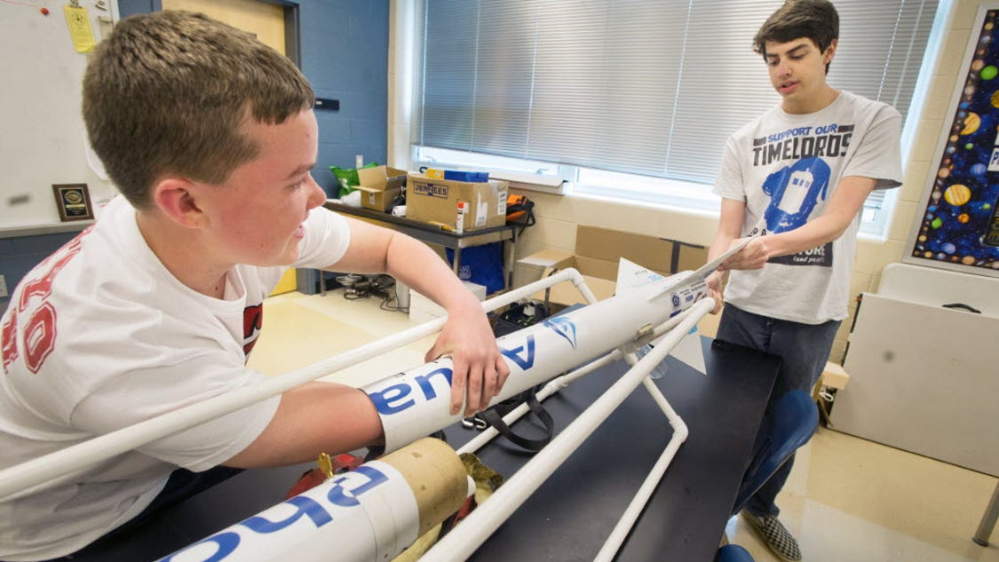 Spring Grove Rocket Scientists to work with NASA again