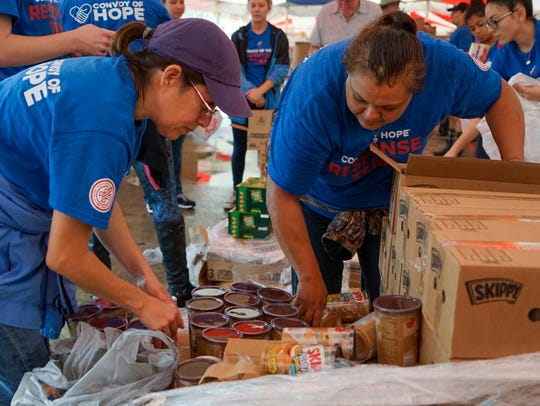 Springfield-based Convoy of Hope is distributing goods