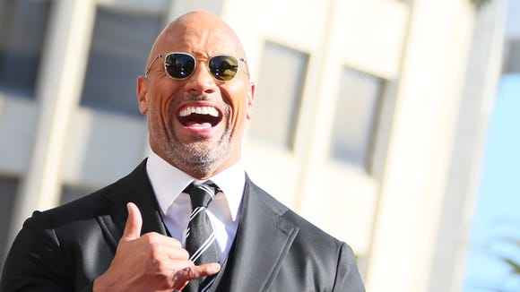Dwayne Johnson gives the OK for his star on Hollywood's