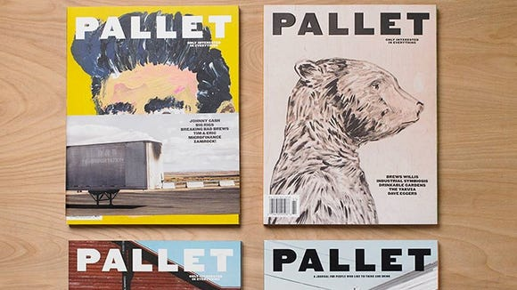 Dogfish Head founder Sam Calagione has announced the cancellation of his magazine, Pallet.