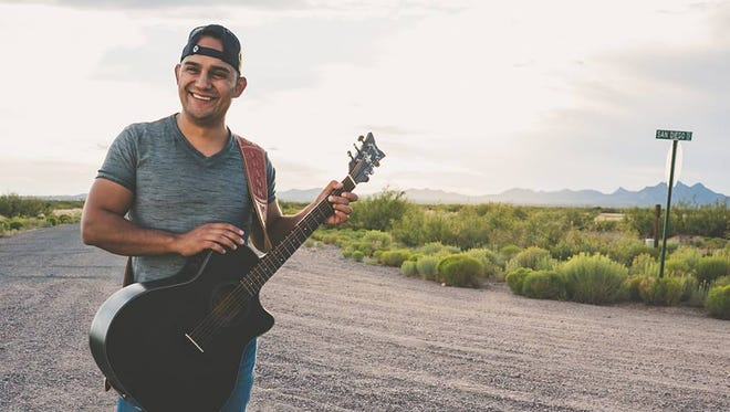 Frank Gomez ended a 10-year tenure at the Las Cruces Police Department on Aug. 4, 2017, and launched a career as a solo artist under the stage name Frank Ray.