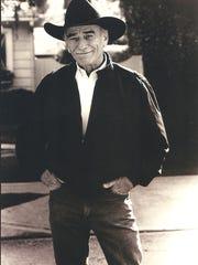 "Salem native James Drury, star of popular western TV series ""The Virginian,"" still wears that trademark black hat."