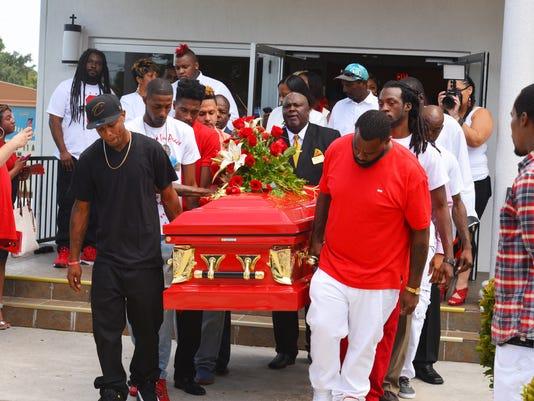 Funeral for Jamel Dunn