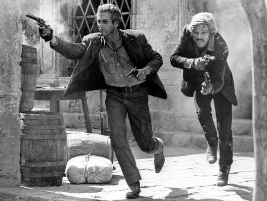 Redford and Paul Newman appear in the climactic final