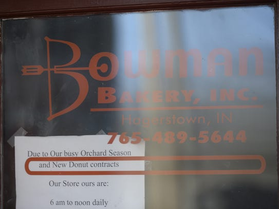 Bowman Bakery is located at 48 S. Perry St. in Hagerstown.