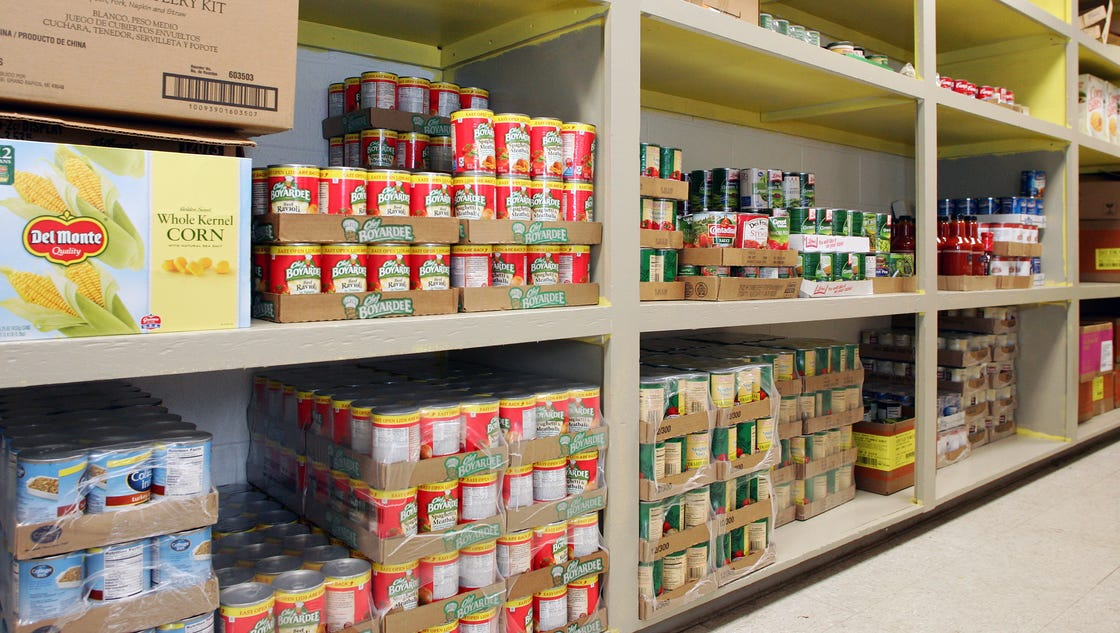 local demand for food assistance on the rise