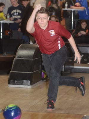 Esteban Garcia fired a 688 series to help Pompton Lakes finish second in Group 1 at Friday's state boys bowling team finals at Bowlero North Brunswick.
