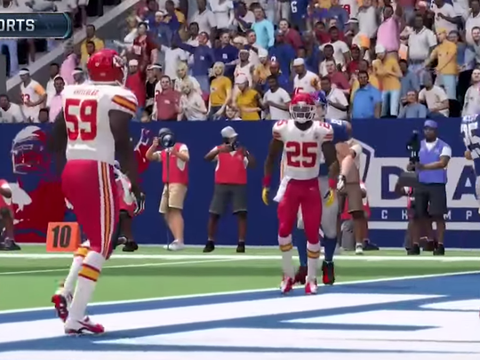 """""""Madden NFL 16"""" will have female fans for the first time."""