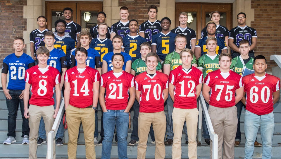 The Enquirer All-City Football Team is made up of players