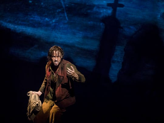 Nick Cartell stars as Jean Valjean in the PNC Broadway
